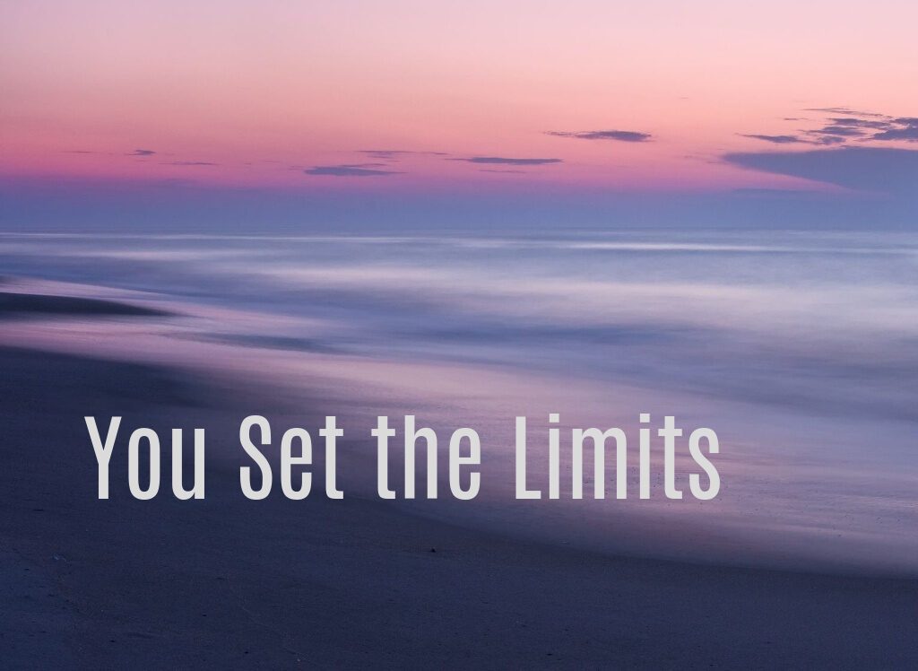 you set the limits