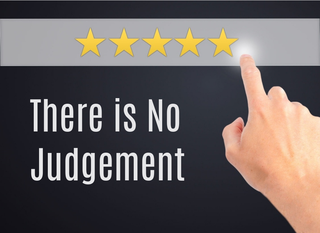 There is no judgement