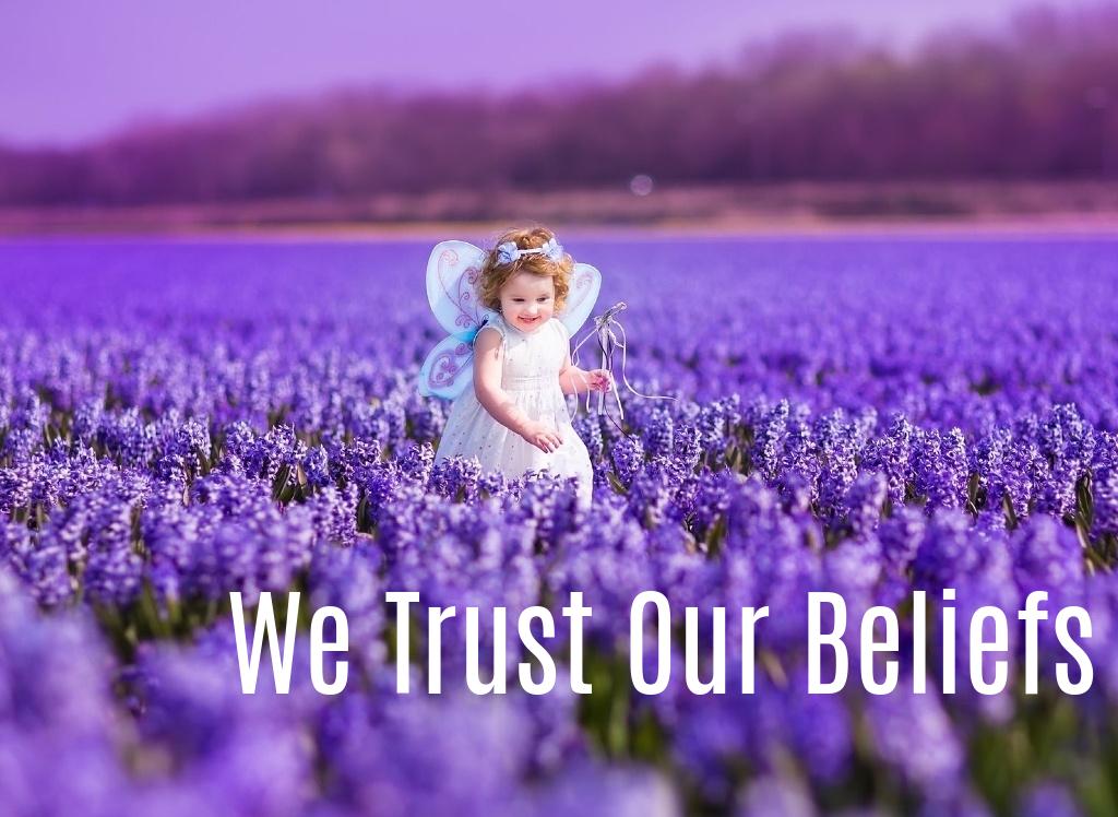 We Trust Our Beliefs