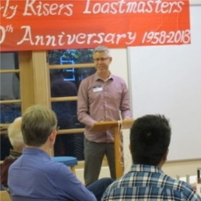 Going Back to Toastmasters