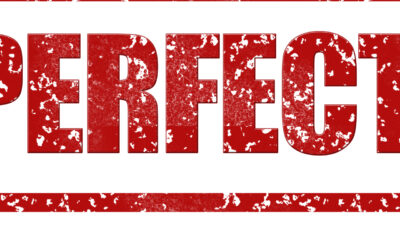 I Don't Want to Be Perfect!